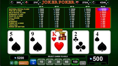Joker Poker » Jocuri Pacanele Ca La Aparate Online Gratis