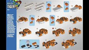 How To Build Lego Tiger -instructions