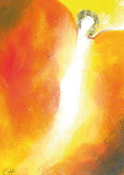 engel des weggeleits engel kunst postkarten karten