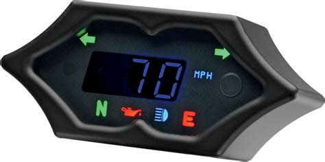 Dakota Digital Black Spike Electronic 5000 Series Mph