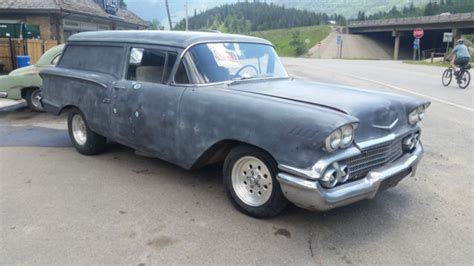 1958 Chevy Sedan Delivery Project Car Hot Rod Rat Rod For