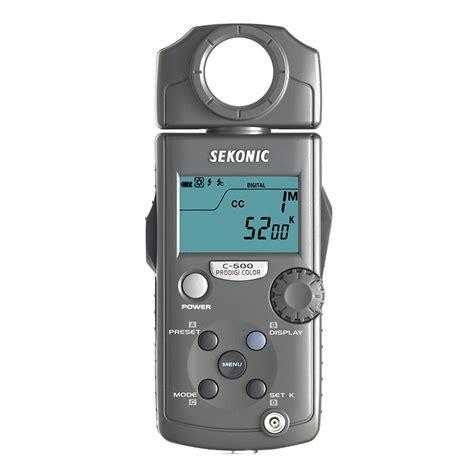 sekonic light meter sekonic prodigi color c 500 light meter sekonic from