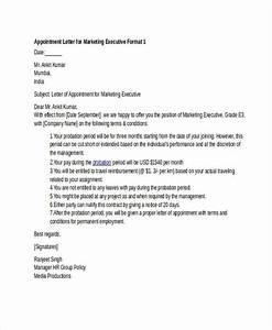 job offer letter templates samples word excel examples With executive offer letter template