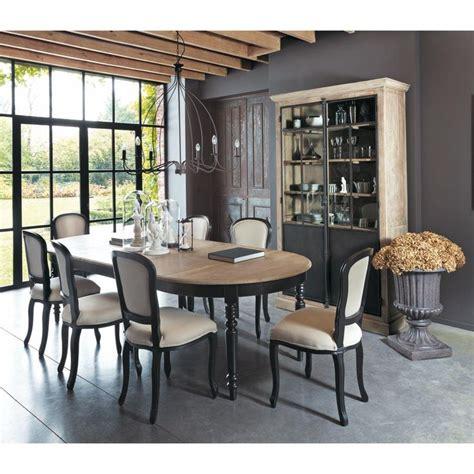 salle 224 manger table de salle 224 manger en ch 234 ne l 125 cm valencay maisons du monde