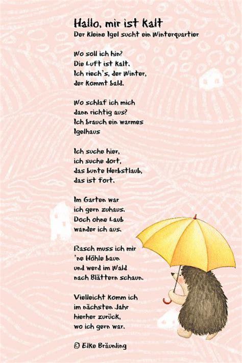 Herbst Im Garten Gedicht by Hallo Mir Ist Kalt Thema Gedichte Gedicht Herbst Und