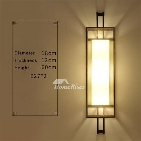 wrought iron wall sconces lighting wall sconce lighting asian fabric rectangule wrought iron