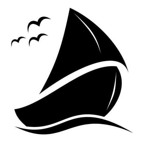 Sailboat Vector by Sailboat Clipart Vector Pencil And In Color Sailboat