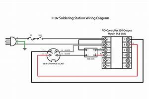 Male 110v Wiring Diagram
