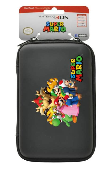 housse protection sacoche rigide mario familly 3ds xl