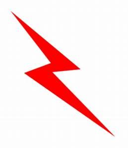 Red Lightening Bolt Clip Art at Clker.com - vector clip ...