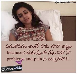 Telugu Problems and Pain Quotations Good Night Images ...