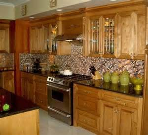 Small Tile Backsplash In Kitchen Backsplashes This Kitchen Backsplash Uses Small