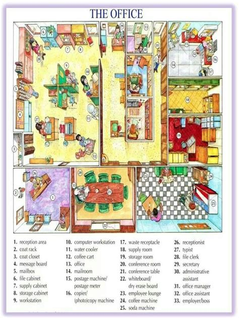 and equipment vocabulary with pictures lesson 7 best images about esl office supplies on Office