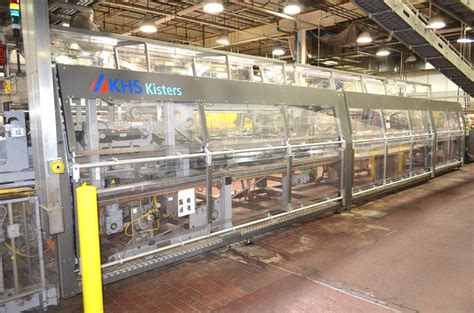 kisters khs automatic wp tray packer united food beverage