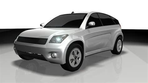 toyota models 3d model car toyota suv google car aaa vr ar low poly