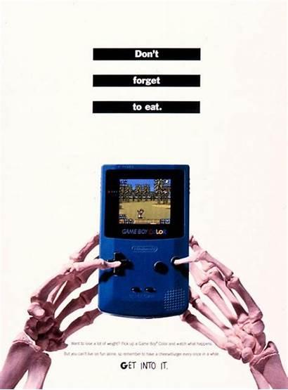 Gameboy Boy Ad Current Ads Nintendo Advertisement