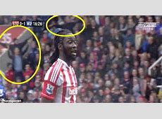 Stoke fans Munich taunts to Manchester United Daily Mail