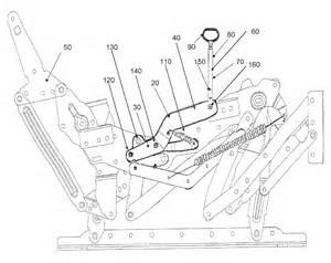Fix Springs In Sofa by Recliner Repair Diagram Recliner Wiring Diagram Free