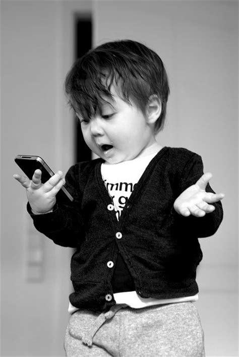 i was on the phone the inner monologue of a toddler using a smartphone the