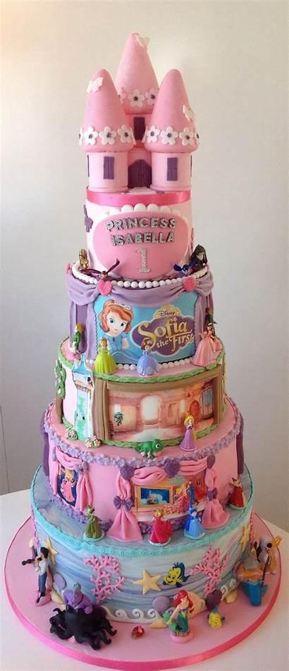 Cake Princess Birthday Disney 1st Cakes Cakecentral