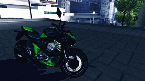 Modification Kawasaki Z800 by Gta San Andreas Kawasaki Z800 Mod Gtainside