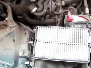 1998-2002 Honda Accord Engine Air Filter Replacement  1998  1999  2000  2001  2002