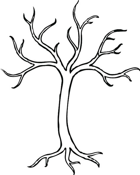 Free Vector Graphic Tree, Branches, Leafless, Bare Free