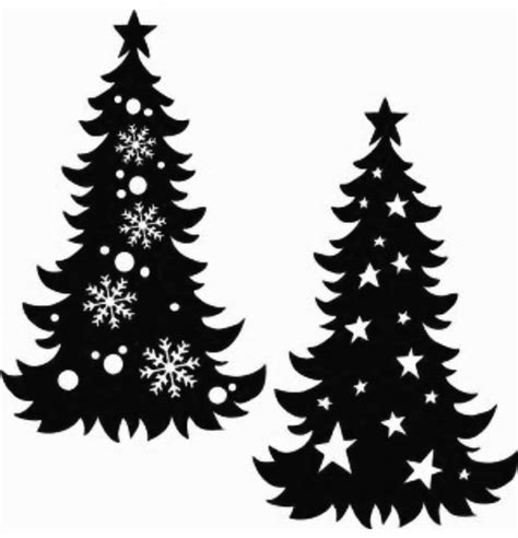 christmas village trees silhouette template christmas village silhouette clipart all about clipart