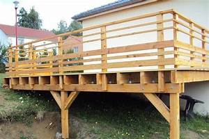 terrasse bois sur pilotis 18 messages forumconstruire With terrasse bois pilotis plan