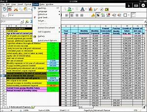 Vertex42 Spreadsheets 5 Excel Retirement Planner Format Sampletemplatess