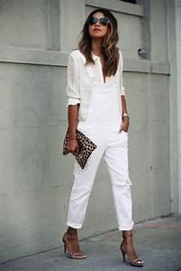Look Chic Femme : 1001 id es pour une tenue avec pantalon blanc fantastique ~ Melissatoandfro.com Idées de Décoration