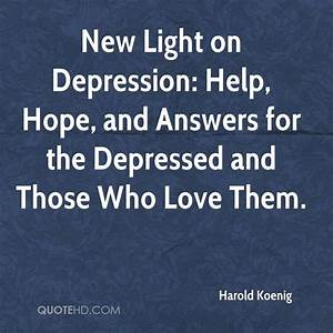 Quotes About Depression And Hope. QuotesGram