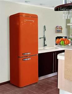 Roter Retro Kühlschrank : schaub lorenz dbf19060o 8151 koelkast oranje retrok lmik pinterest koelkast oranje en keuken ~ Markanthonyermac.com Haus und Dekorationen