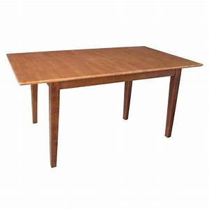 International, Concepts, Cinnamon, And, Espresso, Extendable, Butterfly, Leaf, Dining, Table, K58
