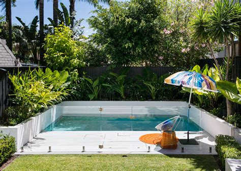 Small Backyard Pool Ideas - brilliant backyard ideas big and small