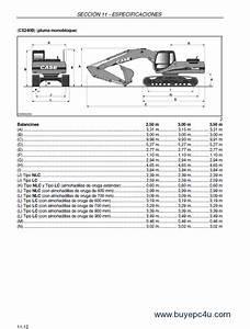 Case Cx210 Cx230 Cx240 Excavators Operators Manual Pdf