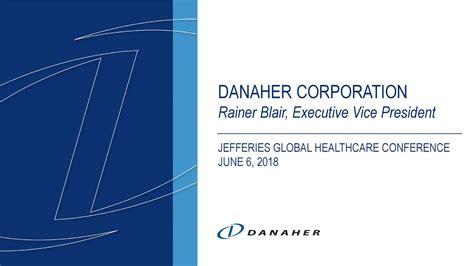 Danaher Business Overview- Presentation Slides
