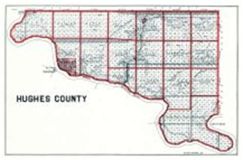 Towns in Hughes County, South Dakota