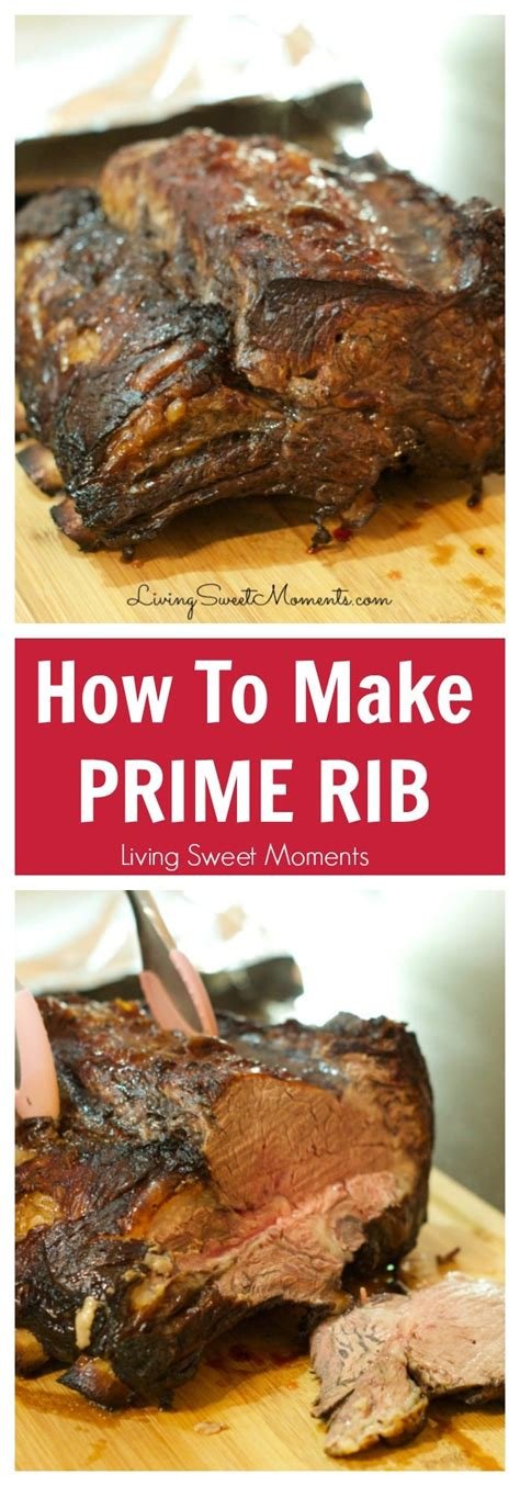 how to cook a prime rib how to make prime rib roast a tutorial living sweet moments