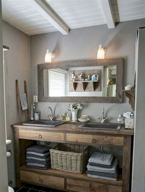 awesome farmhouse bathroom vanity remodel ideas
