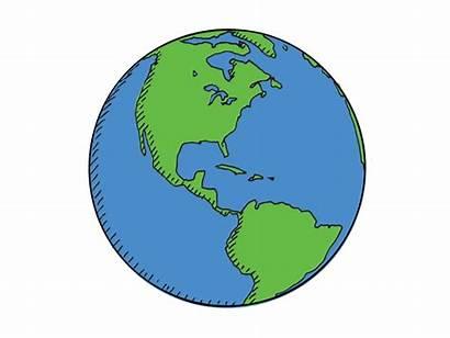 Earth Spin Globe Why Clockwise Hemisphere Motion