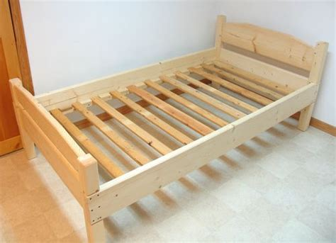 woodworking wooden bed frames plans   wooden