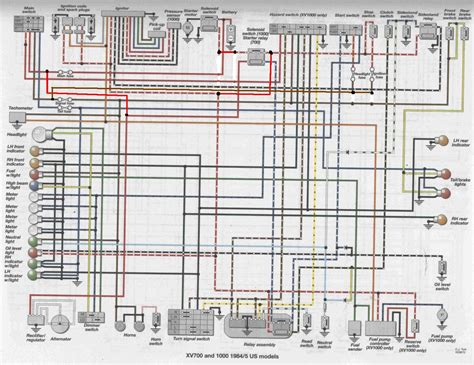 85 Xv700 Wiring Diagram viragotechforum view topic 1985 xv700 wiring diagrams