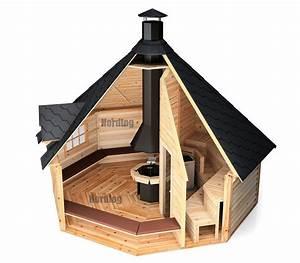 Mit Husten In Die Sauna : nordlog kombi grillkota mit sauna 16 5m2 saunahaus gartensauna h tte au ensauna in heimwerker ~ Whattoseeinmadrid.com Haus und Dekorationen