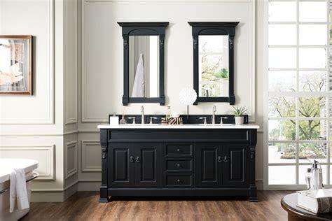 72 brookfield antique black bathroom vanity