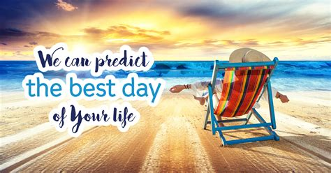 We Predict The Key Looks For: We Can Predict The Best Day Of Your Life!