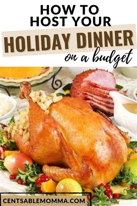 holiday dinner budget host hit season budgets drain bigger than any