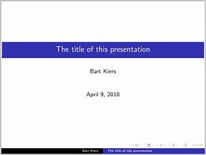 paper size latex beamer presentation package 169 aspect With tex presentation template