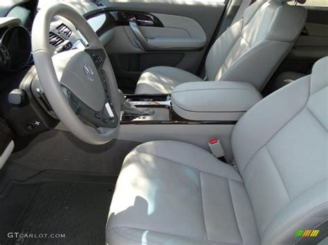 Parchment Interior 2010 Acura Mdx Technology Photo