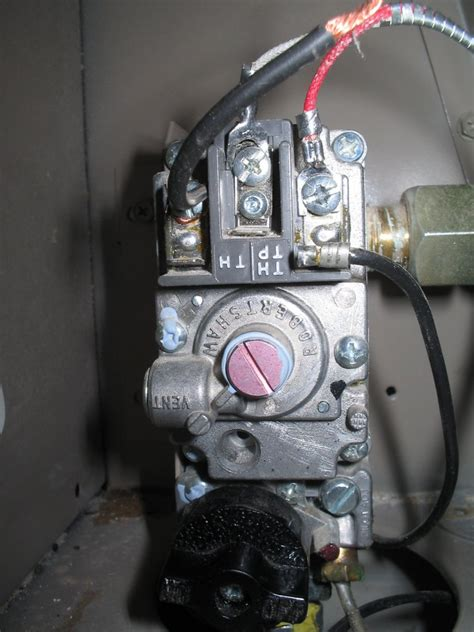 empire floor furnace thermostat empire furnace pilot goes out when increase thermostat temp